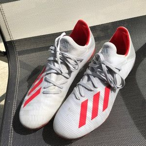 Adidas X 19.3. Grey and red. Size 10